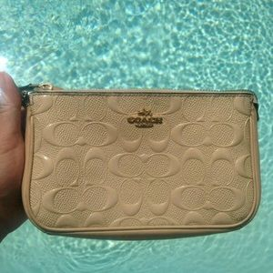 Tan Leather Coach Wallet